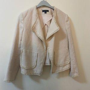 Ann Taylor cream blazer small